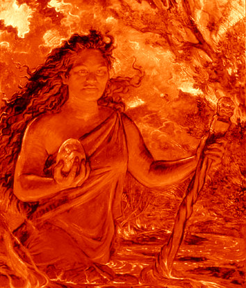 Goddess Pele