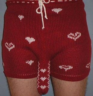 knitted boxer shorts